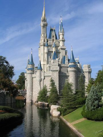 Photograph of the Cinderellas Castle from Walt Disney World (Magic Kingdom
